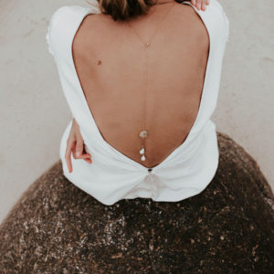 Bijouterie collier dos mariée bijoux femme créateur lyon
