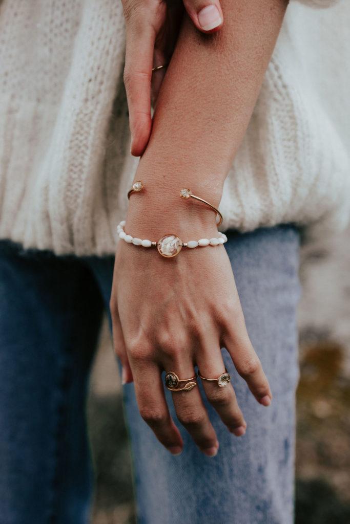 Bracelet perle nacre femme bijoux créateur bijouterie lyon
