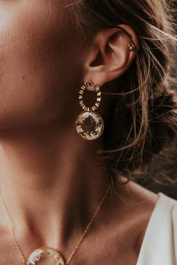 bijoux femme mariée bijouterie créateur lyon boucle oreille