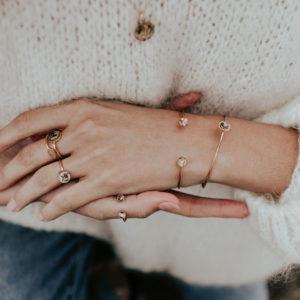 Bijouterie bracelet jonc lyon femme créateur bijoux