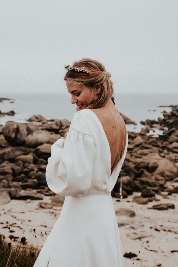 Bijoux mariée collier dos bijouterie lyon créateur