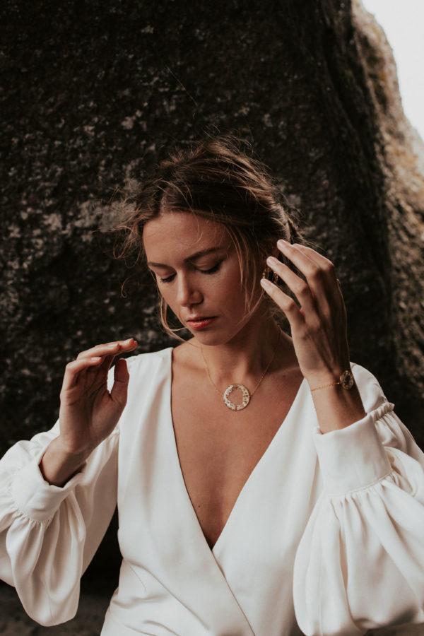 Bijouterie bijoux lyon femme mariée collier créateur