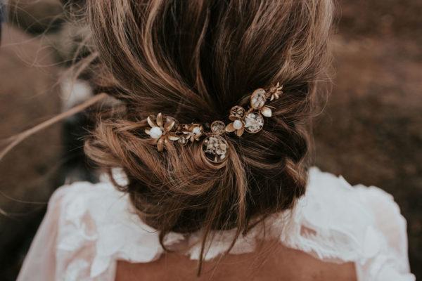 Bijouterie bijoux mariée peigne cheveux Lyon créateur