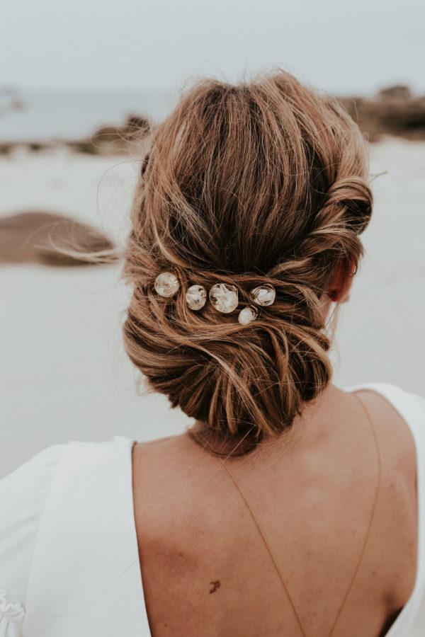 Bijouterie bijoux mariée Lyon pince cheveux créateur