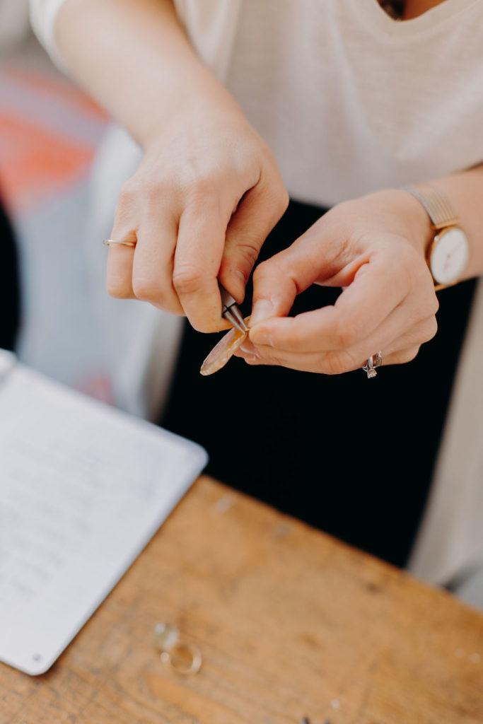 bijoux créateurs bijouterie lyon boucle oreille collier bague