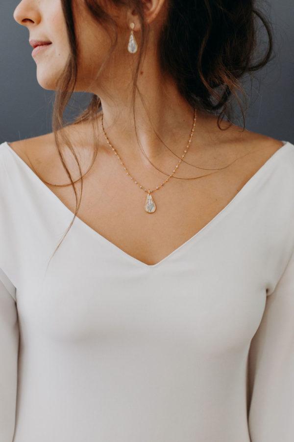 créateur lyon bijouterie bijoux femme mariée collier