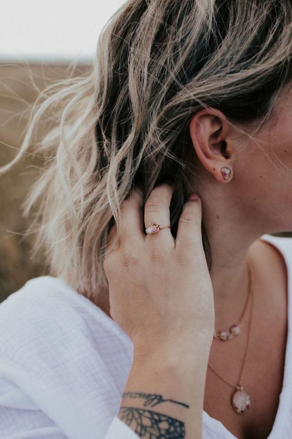 Boucle oreille maman fille femme bijoux bijouterie lyon créateur