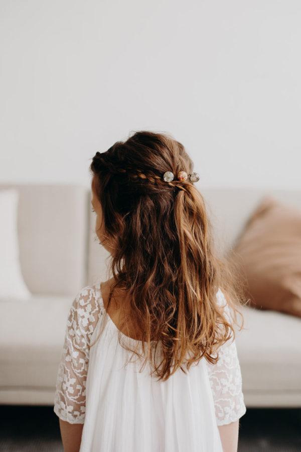 barrette cheveux bijoux femme mariée fille bijouterie cheveux créateur lyon