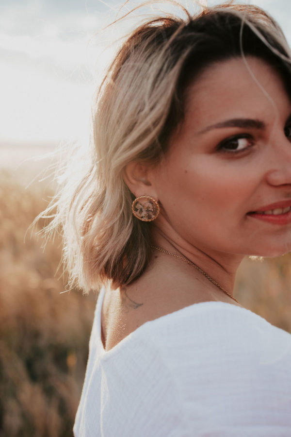 Boucle oreille lyon femme bijouterie maman créateur boucle oreille bijoux