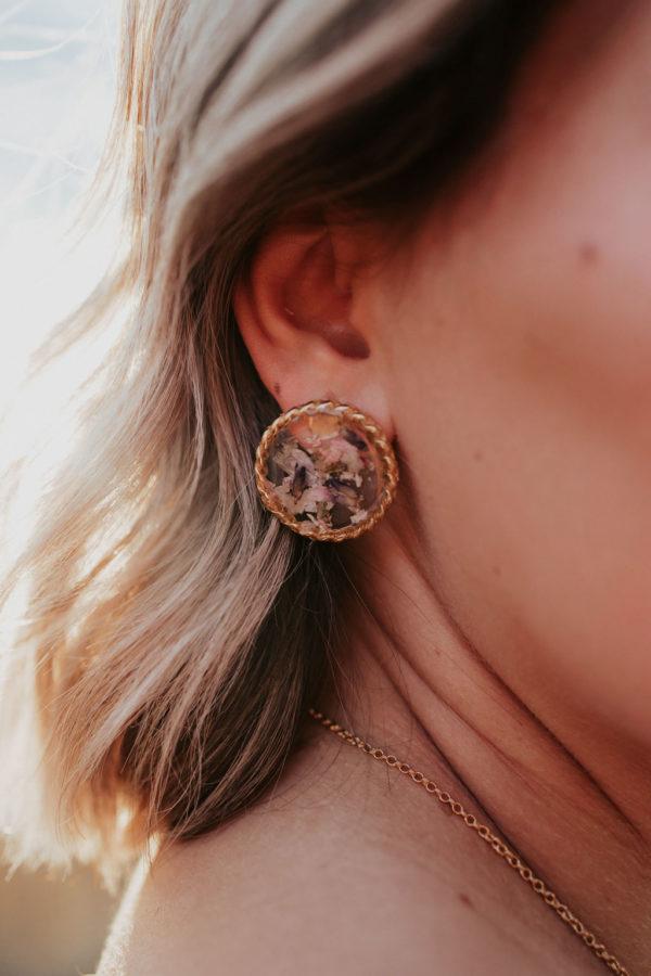 Boucle oreille bijoux maman femme bijouterie créateur lyon