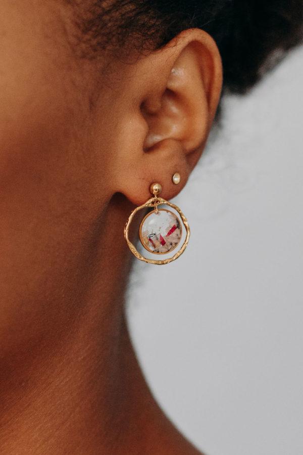 Bijoux bijouterie boucle oreille mariée femme créateur lyon
