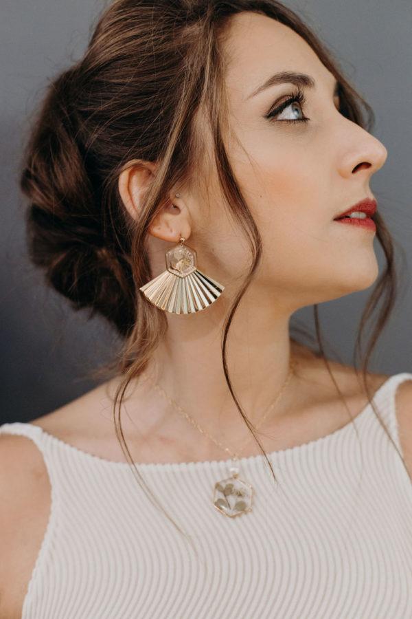 Créateur lyon bijoux bijouterie femme mariée boucle oreille