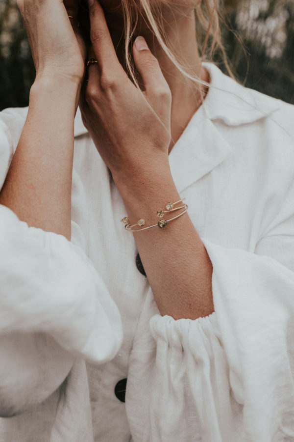 Bracelet jonc femme mariée bijoux bijouterie lyon créateur
