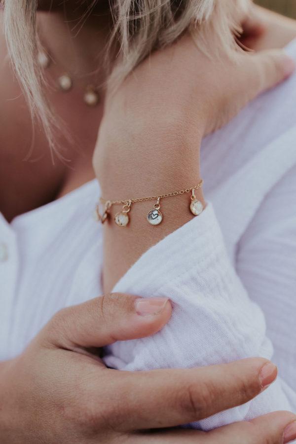 Bracelet breloque maman femme bijouterie bijoux créateur lyon