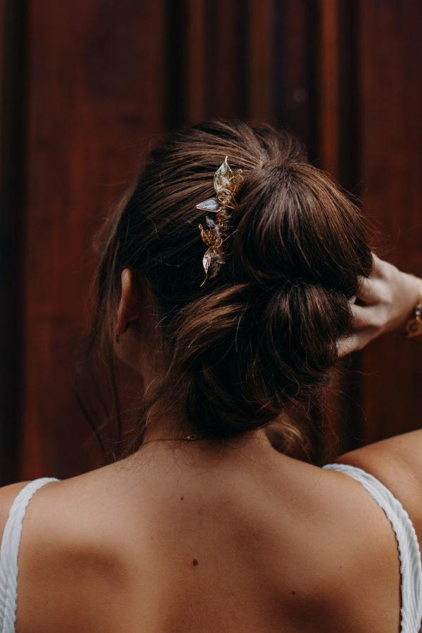 peigne cheveux mariée femme bijouterie bijoux créateur lyon