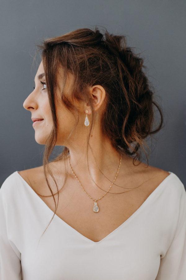 Boucle oreille bijouterie créateur lyon bijoux femme