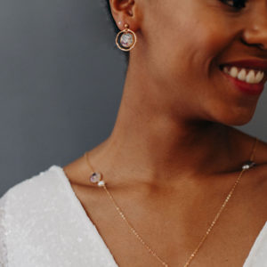 Boucle oreille bijouterie femme mariée bijou créateur lyon