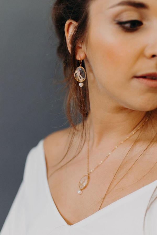 Boucle oreille bijoux femme mariée bijouterie créateur lyon