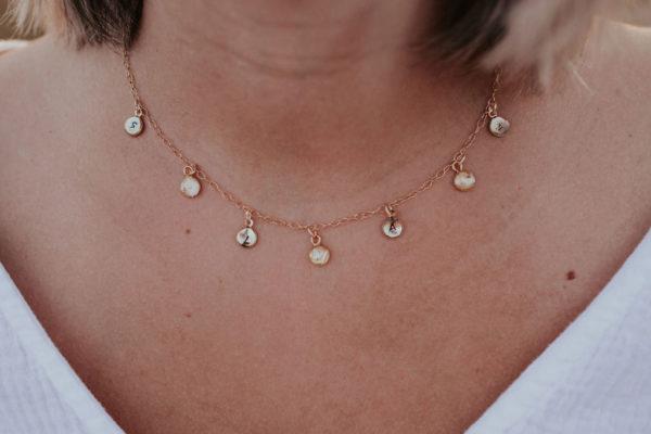 collier personnalisé maman femme bijoux bijouterie lyon créateur bijoux