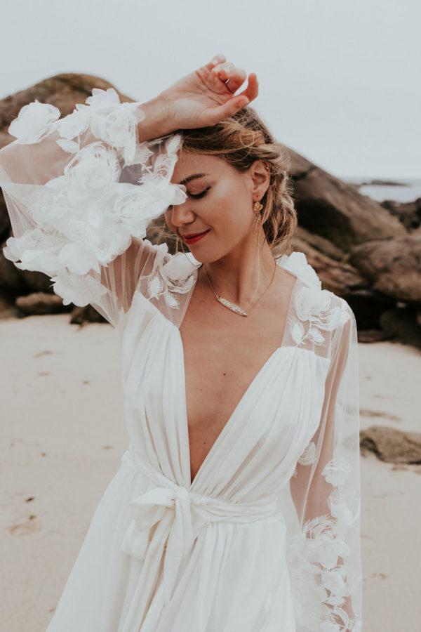 mariée bijoux boucle oreille bijouterie créateur