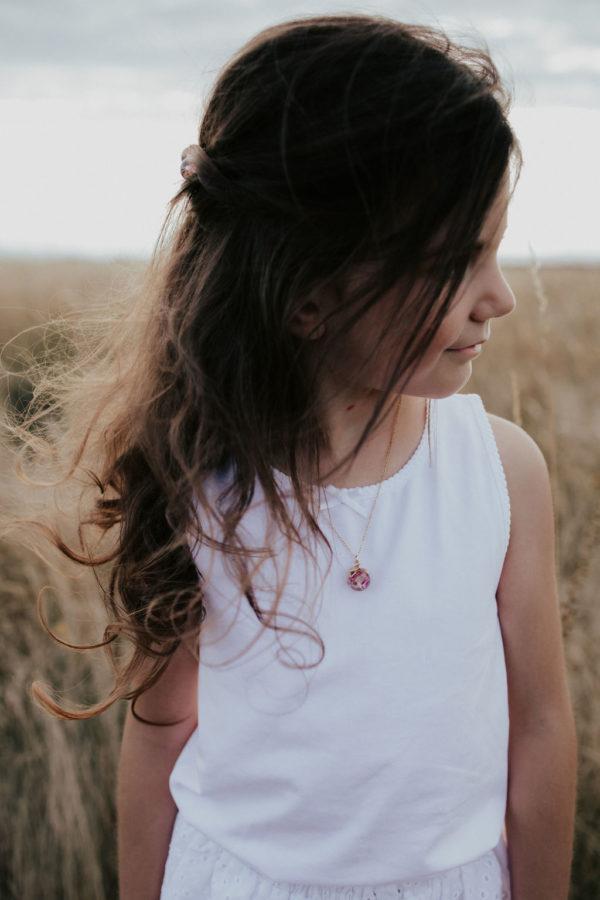 Collier fille bijouterie créateur maman bijoux lyon